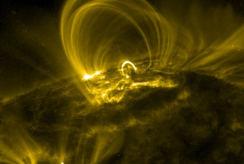 Image data taken from TRACE (Transition Region and Coronal Explorer) NASA space telescope