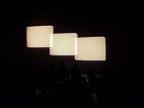 Diagonal, William Raban, UK, Color, 6 minutes, 1973 (3 Screen Film)