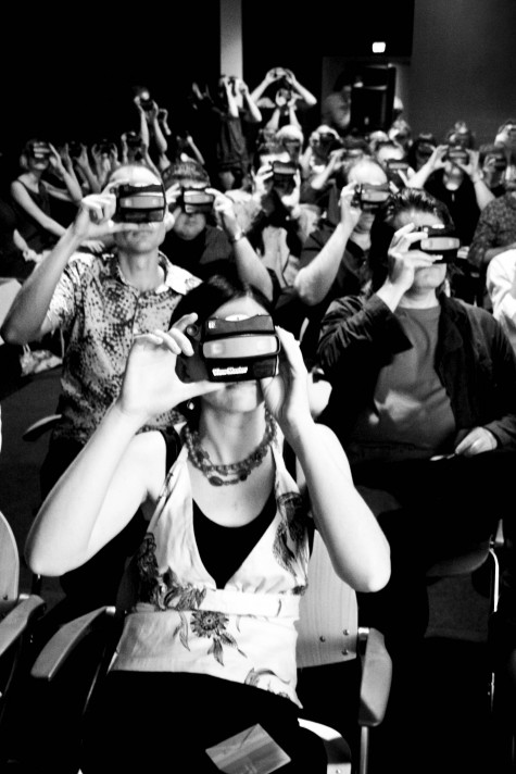 Viewmaster session by Rachel Cobcroft