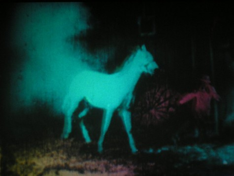 Berlin Horse, Malcolm Le Grice, 1970, UK, 8 mins, 2-screens, 16mm