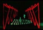 Spook Sport (Seeing Sound) Mary Ellen Bute (with extra animation by Norman McLaren) Colour, 9 minutes, 1939