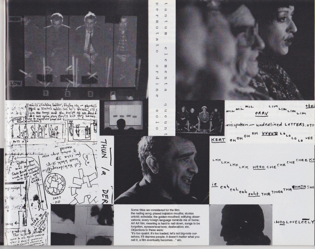 Cantrills Film Notes, issue 71/72 , October 1993