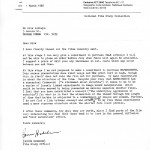Bruce letter to Dirk pg1